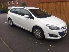 2012 VAUXHALL ASTRA 1.3 CDTI TOURER 1 OWNER AND LOW MILES