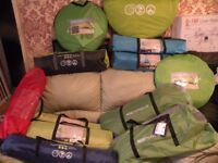 JOBLOT OF TENTS YELLOWSTONE AND NORTHGEAR X10