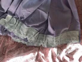 Purple Curtains & Purple Sleeping Bag