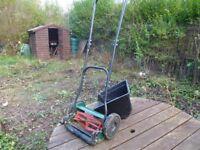 manual grass cutter inc grass box