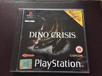 PlayStation 1 Dino crisis boxed game. Ps1