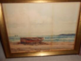 SIGNED FRAMED PAINTING/PICTURE (PETER MACGREGOR WILSON)