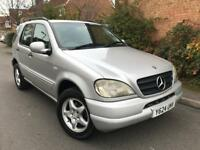 2001 Mercedes Ml320 219bhp 3.2 Petrol Automatic 7 seater fully leather