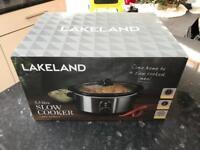 BNIB Lakeland 3.5 Litre Slow Cooker
