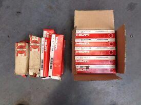 2000 Hilti Nailgun Cartridges for DX450 etc. 10 X 10 cartridge strip to a box