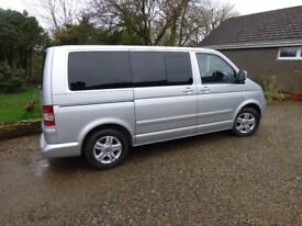 VW 2.5 TDI caravelle. 12 months MOT. Excellent conditions inside and out!!