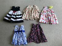 Girl's dresses - Mamas & Papas, John Lewis, Jasper Conran, H&M
