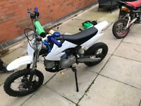 M2r 125cc pit bike 2014