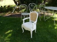 Vintage inspired childrens nursery chair, shabby chic, country cottage, french style