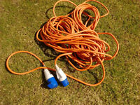 Electric hook up cable caravan motorhome boat camping etc
