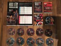 Beachbody insanity max 30 fitness DVD set