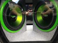 Car subwoofer/amp