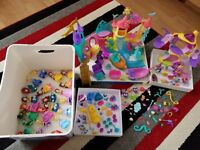 Huge bundle of my little pony and princess playsets