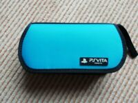 PS vita blue carry / protective case