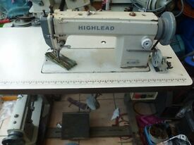 WALKING FOOT INDUSTRIAL SEWING MACHINE( Ideal for leather, upholstery,)