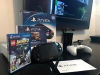 Sony PS VITA SLIM PlayStation Bundle Boxed. (Immaculate condition)