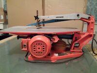 Hegner Brand , Multicut 2 German Scroll saw machine. needs attention. £60/=