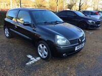 Renault Clio 1.2 Petrol with Long MOT in Excellent condition