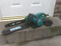 BOSCH CHAINSAW £40