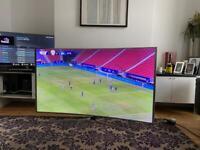 Samsung UE65JS9000 65 Inch Smart 4K Ultra HD Curved LED TV UE65JS9000TXXU