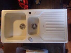 Blanco Rohteil Classic 6S Silgranit 1.5 bowl kitchen sink