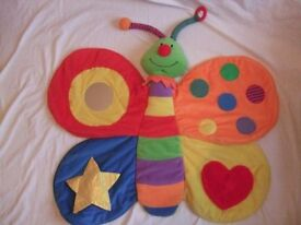 Mothercare Butterfly Sensory Play Mat