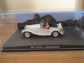 1:43 MP Lafer - JAMES BOND COLLECTION - Moonraker - FABBRI