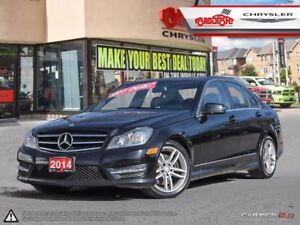 2014 Mercedes-Benz C 300 C 300 4MATIC LEATHER P-ROOF CLEAN
