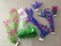 Aquarium artificial plants brand new