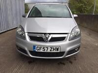 VAUXHALL ZAFIRA AUTOMATIC 1.9 DIESEL FULL SERVICE HISTORY