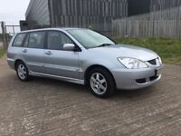 ESTATE CAR 🚗🚗--MITSUBISHI LANCER 1.6 PETROL-- ONLY DONE 60K / FULL SERVICE HISTORY/ FULL YEAR MOT