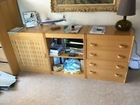 Quality desk and cabinets