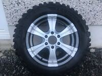 18INCH 6/139.7 MITSUBISHI TOYOTA ETC JEEP FOX ALLOY WHEELS WITH NEW TYRES FIT MOST MODELS