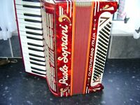 PAOLO SOPRANI 80 BASS ACCORDION