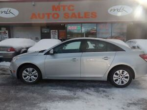 2015 Chevrolet Cruze LT 1LT, BACKUP CAM, LOW MILEAGE