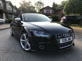 AUDI TTS ROADSTER S-TRONIC (AUTO), 2008 (58), LOW MILEAGE, STUNNING EXAMPLE, FULLY LOADED!