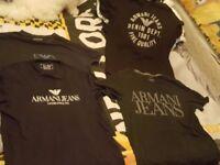 armani t shirts/jeans