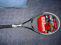 Kids WILSON SLAM 100 Unisex Tennis Racket Junior L1
