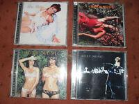 4 roxy music remastered cd,s.