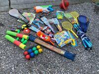 Toys for the garden outdoor games