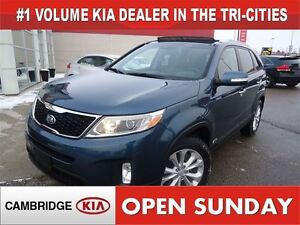 2014 Kia Sorento EX V6 W/SUNROOF / LEATHER / AWD