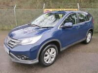 Honda CR-V 2.0 SE i-VTEC PETROL 4X4 (deep sapphire blue) 2013