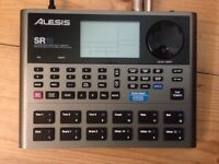 Alesis SR18 Drum Machine (With Bass Capability)