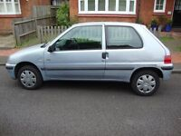 2000 PEUGEOT 106 INDEPENDENCE, GENUINE LOW LOW MILEAGE OF 68000, MOT MARCH 2017, SUPERB LITTLE CAR