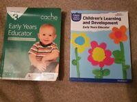 Early years educator books