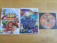 3 Nintendo Wii Games