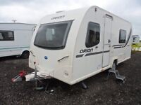 BAILEY ORION 430 - 2011 MODEL - FIXED BED - TOURING CARAVAN *** SALE NOW £8995 ***