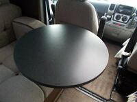 Motorhome Round Swivel Table