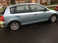 52 plate Honda Civic 1.6 mot may 2018 drives like new