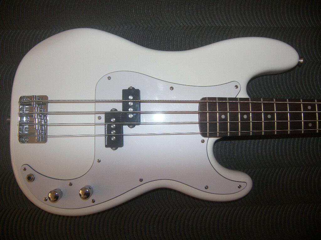 fender squier modified precision bass with seymour duncan spb 3 quarter pound pickups in. Black Bedroom Furniture Sets. Home Design Ideas